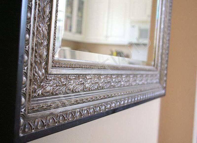 Сделать зеркало в багете своими руками